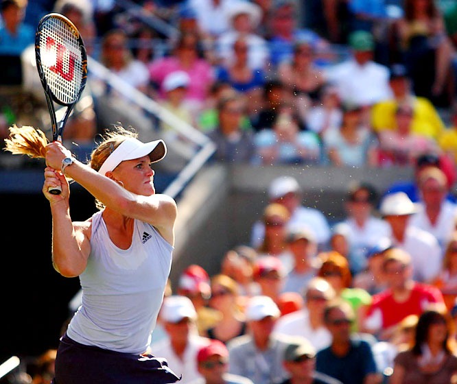 Oudin is the youngest American woman in the U.S. Open quarterfinals since Serena Williams a decade ago.