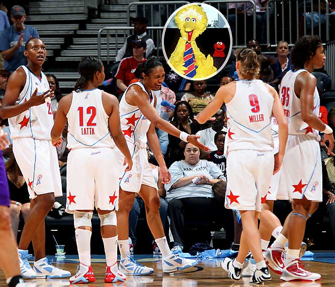 Just when the WNBA was gaining some respect (play along with us), word came that the playoff-contending Atlanta Dream may have to play possible home postseason games at a different venue because <i>Sesame Street Live</i> is booked at Philips Arena. Maybe the WNBA isn't a Mickey Mouse league after all; maybe it's more along the lines of a Big Bird and Elmo league.