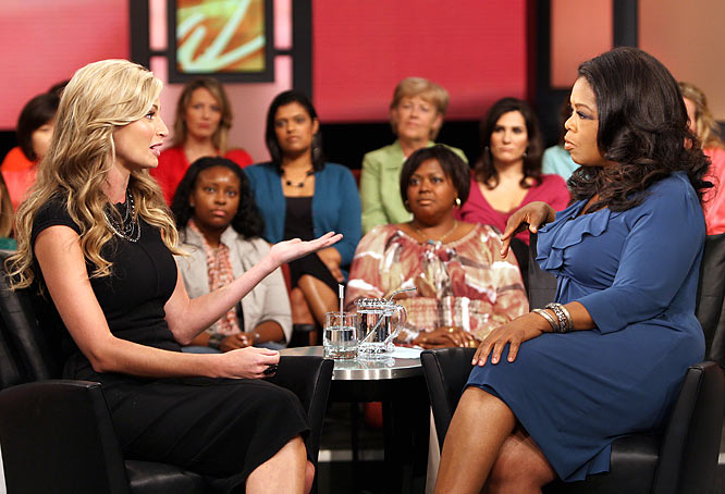 "Will Andrews' appearance on Oprah's talk show bring closure to the infamous peephole video? Or will it usher in a new chapter in Andrews' life as a mainstream celebrity? That remains to be seen, but it's safe to say that ""Erin Andrews Peephole Video"" will once again be a trending topic on search engines after her Oprah appearance Sept. 11."