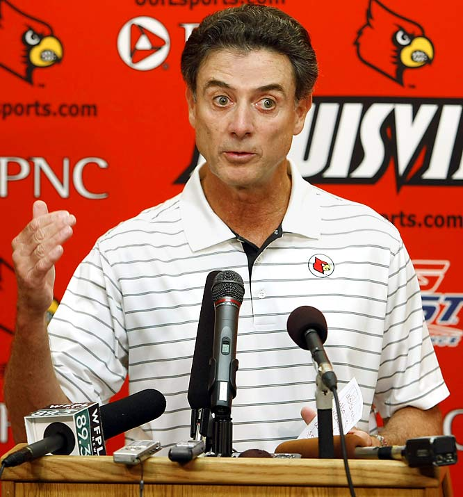 Rick Pitino brought up 9/11 in his first post-scandal press conference and Ted Kennedy's death in his second. What will he reference next time he scoldes the media for coverage of his saga?