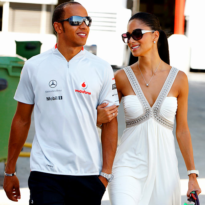 You know you're doing pretty well in life when you are in a position to dump the Pussycat Dolls' Scherzinger. A British tabloid quoted a source close to Hamilton as saying that the 24-year-old F1 champion `'wants to play the singles market for a while and enjoy himself.'' Yeah, you know, because you can't really enjoy yourself with the lead singer of the Pussycat Dolls.