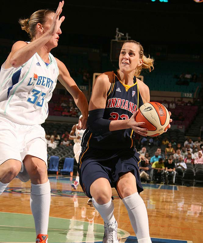 If Katie Douglas (pictured) wasn't at the top of your MVP list already, she should after the Fever's last four-game stretch. After Douglas sprained her left ankle in loss to Sacramento last Saturday, Indiana dropped games against Phoenix (106-90) and at Detroit (70-63). When she came back, the Fever bounced back with victories over the Mystics (72-61) and Liberty (69-63) to put Indiana a step closer to clinching home court advantage throughout the playoffs. <br><br> Coming up: 9/10 at Chicago; 9/13 at Connecticut