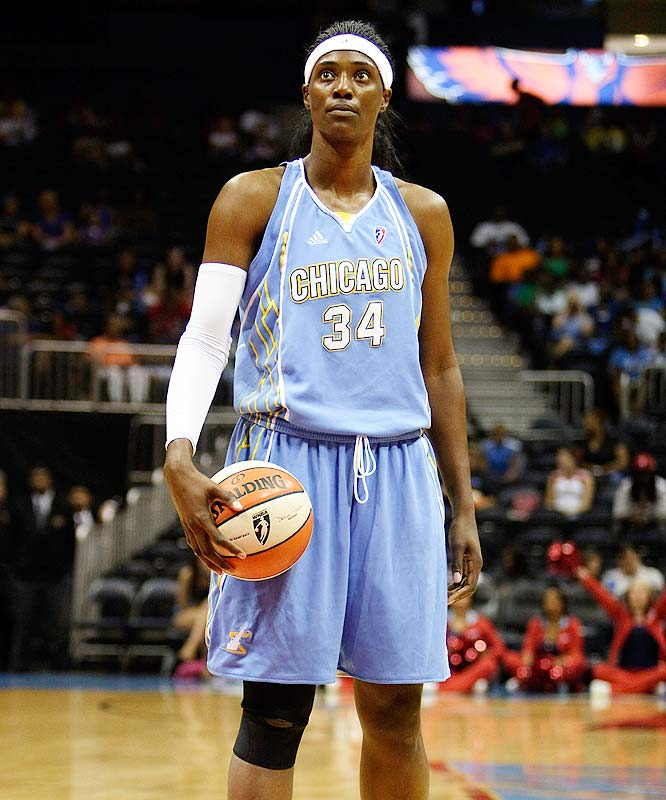 "Tiebreakers over the Mystics and Sun have given the Sky the inside track on the East's final playoff spot. Whether they can hold on to their advantage will depend on All-Star center Sylvia Fowles (pictured). After missing five games with an ankle injury, Fowles made a surprise return to the lineup for Chicago's game against the Mystics last Friday, notching 13 points, four rebounds and two blocked shots off the bench. ""She is just so dominant offensively and defensively [with her] shot-blocking ability and her presence on the inside,"" Mystics' Crystal Langhorne said. <br><br>Coming up: 9/10 vs. Indiana; 9/12 vs. Detroit"