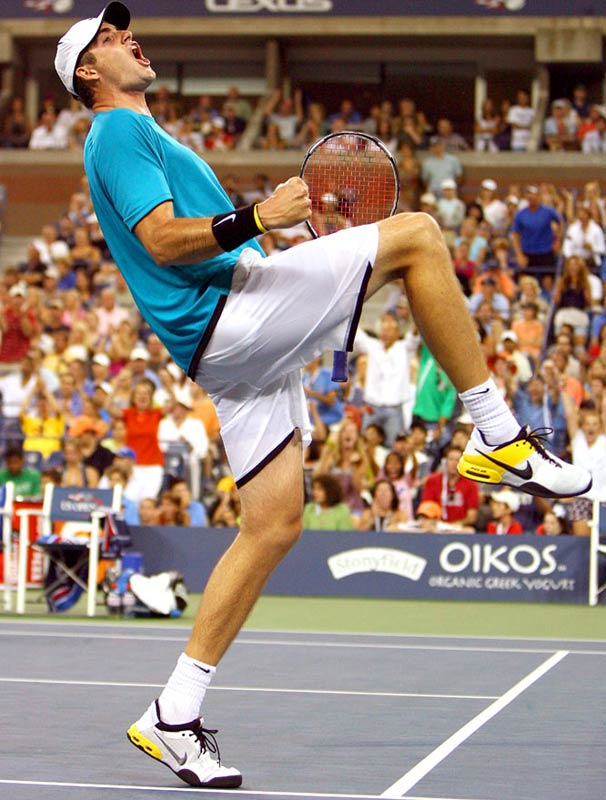 Isner took out No. 5 seed and sentimental favorite Roddick 7-6 (3), 6-3, 3-6, 5-7, 7-6 (5) in the third round. The three hour, 51-minute marathon was the biggest victory of Isner's career.