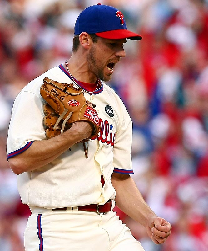 Cliff Lee, acquired in a midseason trade, dominated in his first career postseason start.