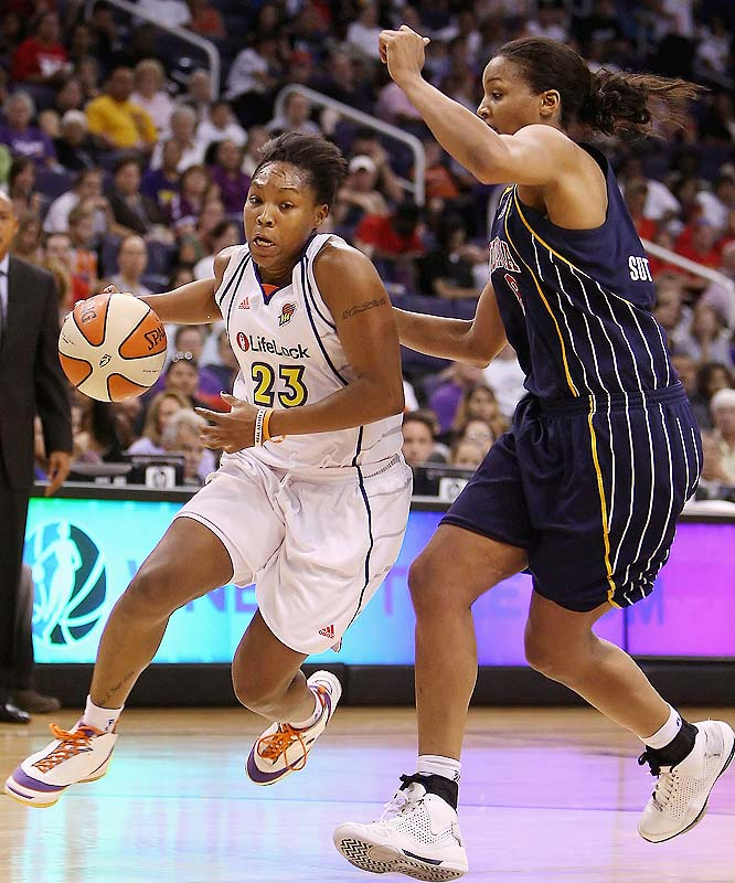 Cappie Pondexter was the hero for the Mercury in Game 1: After missing a potential game-winner at the end of regulation, she scored seven of her 23 points.