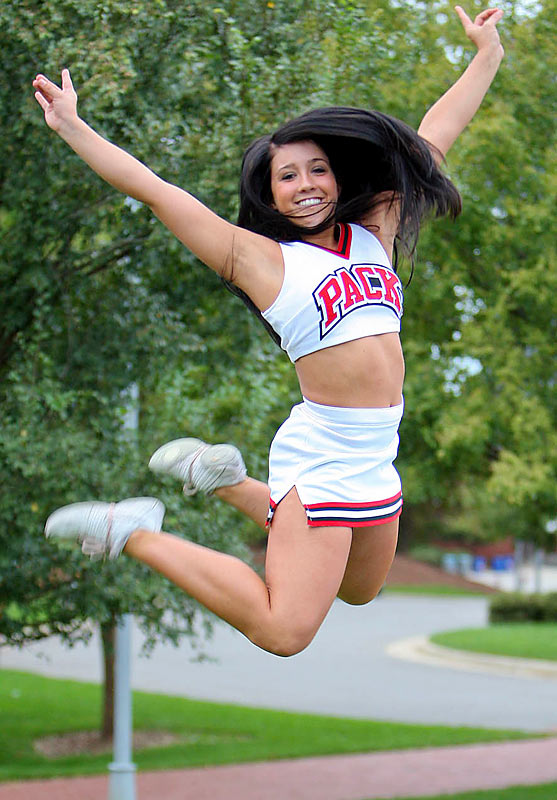 Meet Kristen, a North Carolina State University junior. Kristen, who is a big Chelsea Handler fan, has dreams of being a Dallas Cowboys cheerleader.