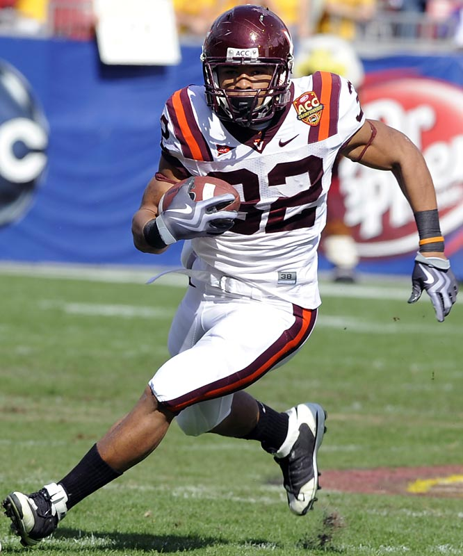 Hokies running back Darren Evans tore his ACL back in August, which seemed like the end for Virginia Tech. Quarterback Tyrod Taylor and redshirt freshman tailback Ryan Williams have rallied to lead the Hokies, whose only loses are to Alabama and Georgia Tech.