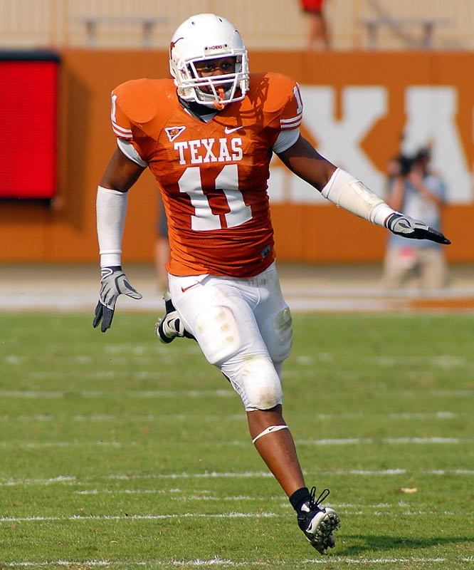 Texas' senior linebacker will miss the rest of the season after sustaining an injury in the season opener. Texas has found a way to fill the void, but after graduation and the NFL depleted its 2008 defense, losing Norton to shoulder surgery was a big hit.<br><br>Who would you add to the list? Send suggestions to siwriters@simail.com