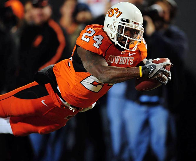 Kendall Hunter was injured in Oklahoma State's Week 2 loss to Houston. Between losing Hunter, defensive back Perrish Cox and possibly standout receiver Dez Bryant (who has been ruled ineligible), the Cowboys' promising 2009 season has not gone according to plan.