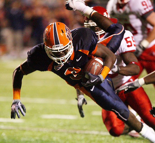 UTEP running back Donald Buckram ran for a career high 262 yards and four touchdowns as the Miners upset Houston.