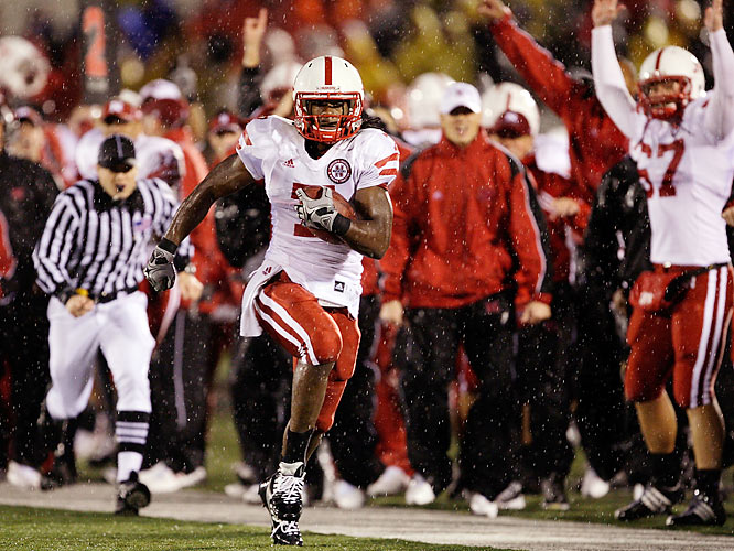 Nebraska overcame a 12-0 deficit by mounting the biggest fourth-quarter road comeback in school history, helped in part by this Dejon Gomes interception that set up a touchdown.