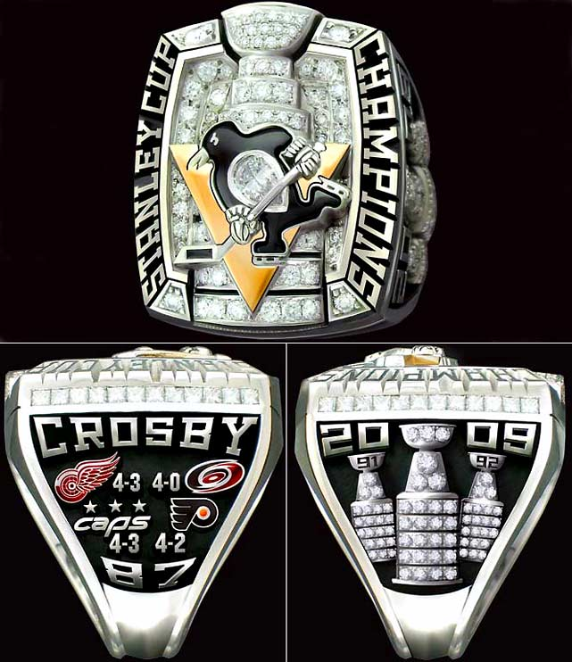 SI.com takes a look at some championship rings from various sports, beginning with those of the 2009 Stanley Cup Champion Pittsburgh Penguins, who defeated the Detroit Red Wings 4-3 in a best-of-seven final series.