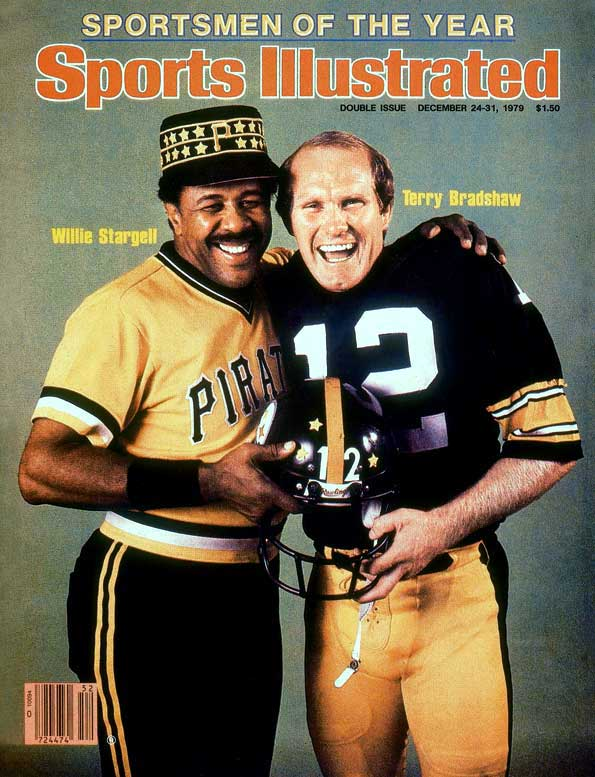 "Terry Bradshaw showed Hollywood Henderson just how smart he was by leading the Steelers to a 35-31 Super Bowl win over the Dallas Cowboys -- their third NFL title in five years. In October, Willie Stargell's ""We Are Family"" Pirates upended the Orioles in a seven-game World Series. The following January, Bradshaw and the Steelers repeated with a 31-19 win over the Los Angeles Rams in Super Bowl XIV."