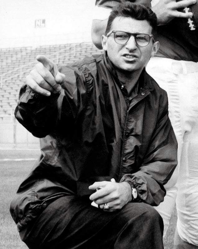 Before taking over as head coach of the Nittany Lions in 1966, Paterno spent 15 seasons as an assistant under coach Rip Engle.