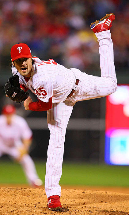 Cole Hamels held the Yankees scoreless for three innings, but gave up a two-run homer in the fourth. He ended up allowing five earned runs over 4.1 innings to take the loss.