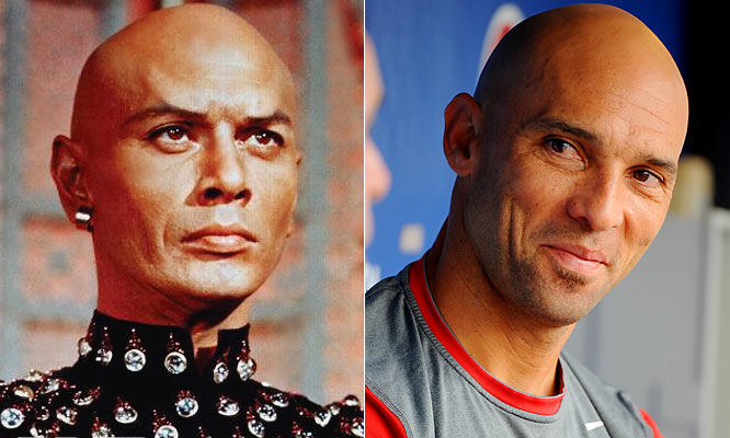 Brynner won an Academy Award in 1956 for his role of King Mongkut of Siam in ''The King and I.'' <br><br>Left-fielder Ibanez won a three-year, $31.5 million contract with the Phillies this year and was named a 2009 All Star.