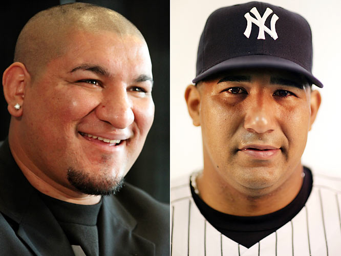 Arreola, also known as the ''Nightmare,'' has a 27-1 record with 24 KOs but lost to Vitali Klitschko in a bid to win the  WBC heavyweight title on Sept. 26. <br><br>Molina, one of three Molina brothers in the Majors, was traded to the Yankees in 2007 and hit the final home run in the old Yankee Stadium.