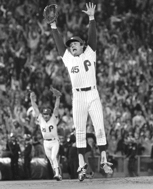 "In 1980, the Phillies beat the Mets to win their first World Series in 97 years.  At the victory parade,Tug McGraw heightened the animosity between the two teams by proclaiming New York fans could ""take this championship and shove it!"""