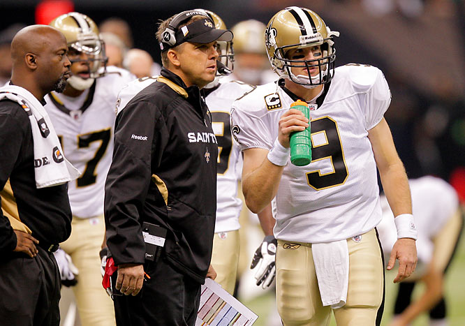 Coach Sean Payton and Brees didn't miss on many scoring opportunities against the Giants, finishing with 48 points for the second time this season.
