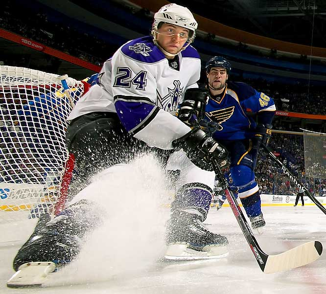 Entering the final season of his contract, the enigmatic Russian forward has been prominent in trade rumors -- a reflection both of his value to others and his expendability to the Kings. Frolov has the talent to be part of their long-term success, but he needs to show more than flashes of potential if he wants to earn an extension that keeps him in L.A.