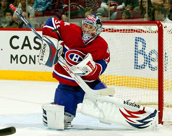 All-Star starter in February. Whipping boy by April. Battling both a glacial glove hand and a rapid loss of confidence, Price squandered the mystique that defined his rookie campaign. Though he appears to be in a better frame of mind, he had some rough moments in the preseason. If that continues, it'll be tough for Montreal's reconstructed roster to gel.