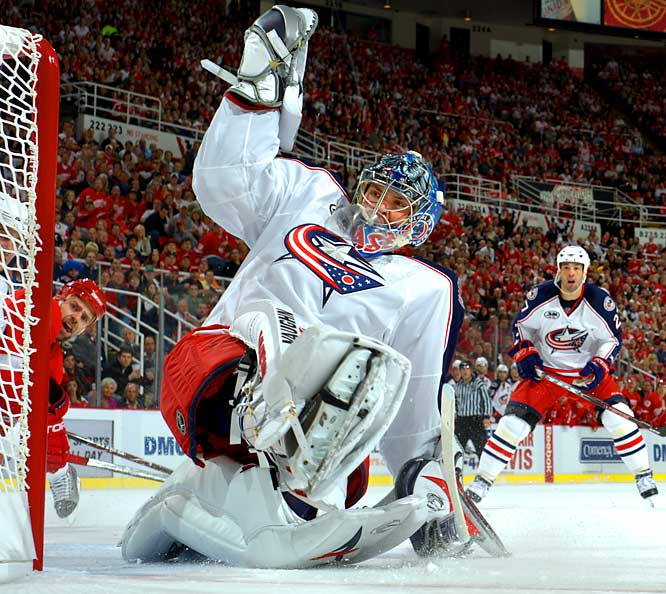 The Blue Jackets finally discovered the path to the playoffs after years in the wilderness, and they do not want to go back. With few off-season reinforcements, the onus to stay competitive falls on the team's young core, primarily Mason. His load will be lightened with the arrival of competent backup Mathieu Garon, but last season's Calder-winner still has to prove that he's not just the next Andrew Raycroft.