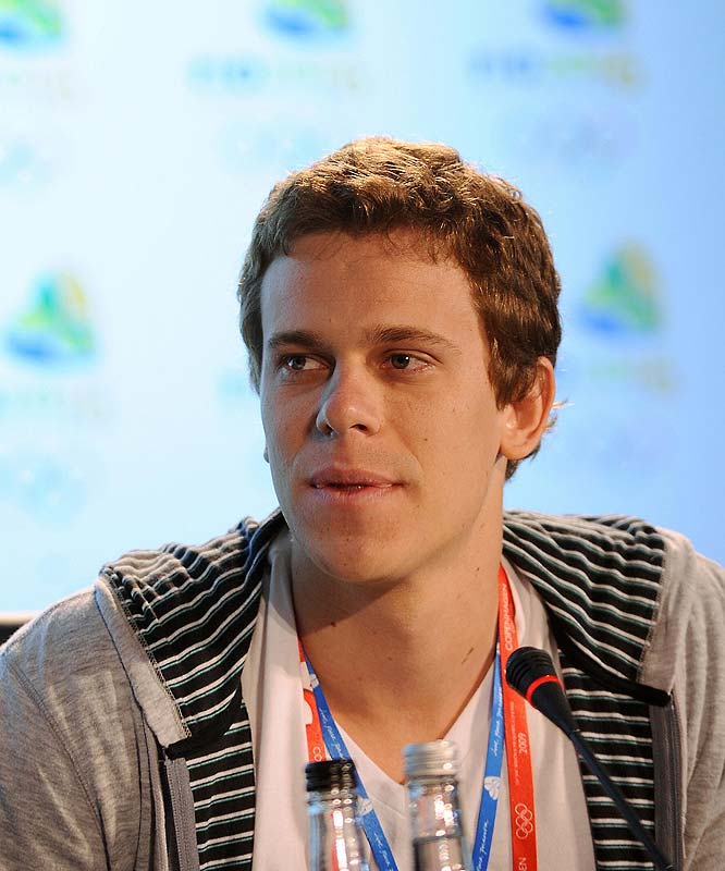 The Brazilian swimmer promised a new generation of Brazilians was set to welcome the world to his country.
