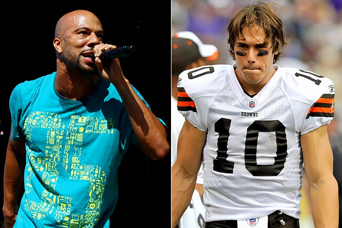 "It's been a tough couple of weeks for Quinn. He not only lost the Browns' starting quarterback job but also couldn't even go to a concert without being reminded of it. Quinn was in attendance last week at the House of Blues in Cleveland when Common freestyled that he ""won't mess up like Brady Quinn."""