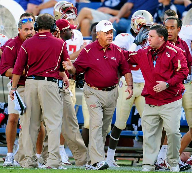 """It seems that Florida State football and Bobby Bowden have become as irrelevant as fellow 1990s icons MC Hammer, Fabio and Jerry Springer. Even former Seminole and current Tennessee Titan Chris Hope introduced himself on <i>Sunday Night Football</i> as, """"Chris Hope ... Florida State of the '90s."""" Yeah, it seems like Florida State will need to go the way of Crystal Pepsi and reinvent itself after this season."""