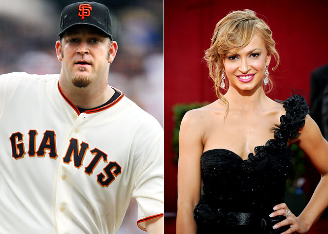 Penny's accomplishments off the mound in dating Eliza Dushku and Alyssa Milano have always been more impressive than his accomplishments on it. Well, Penny is at it again, off the mound of course, as he's now seeing Smirnoff from <i>Dancing With the Stars</i>. Let's just hope that he doesn't end up on the show now.
