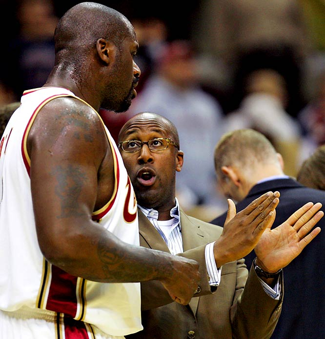 The NBA season starts this week and O'Neal admits he still doesn't know the Cavaliers' playbook. That's probably because he's had a hard time paying attention to a coach without the credentials of Phil Jackson or Pat Riley. What's the over/under on how many games before O'Neal starts blasting Mike Brown like he did Stan Van Gundy?
