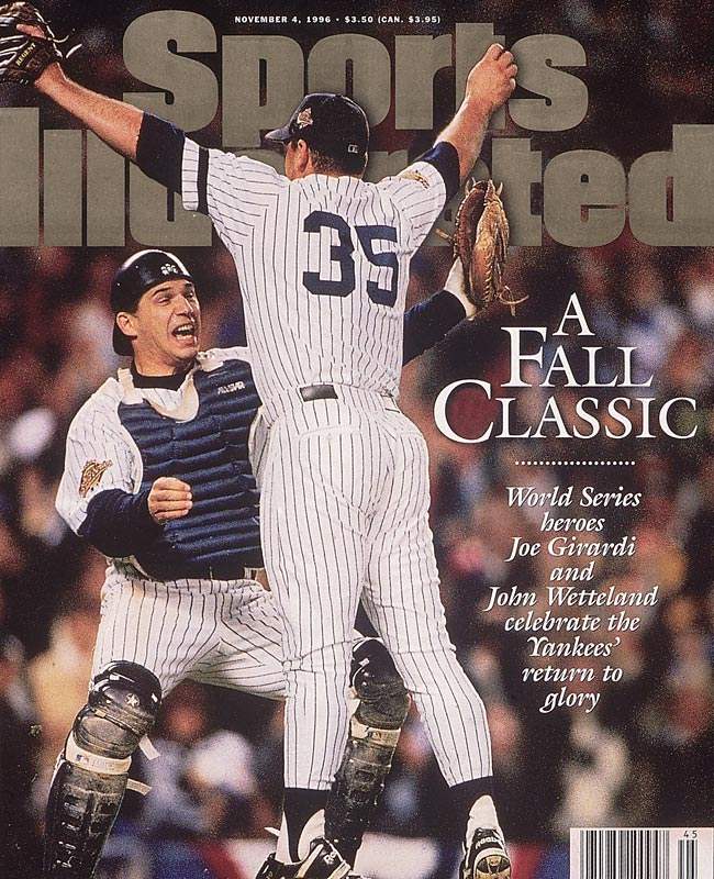 In Game 6, the Yankees win their first World Series since 1978 after beating Braves in the Bronx, 3-2.