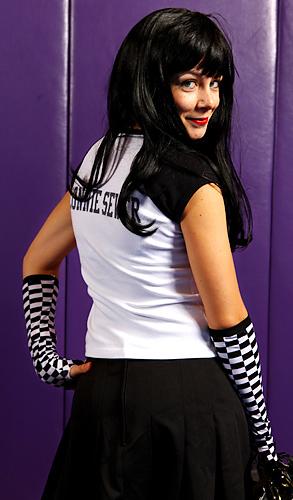 Jeerleader Connie Sewer.