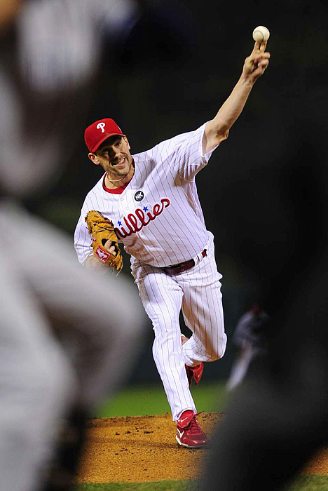 Down 3-1 in the World Series, the Phillies turned to Cliff Lee, who earned a complete game victory in Game 1.