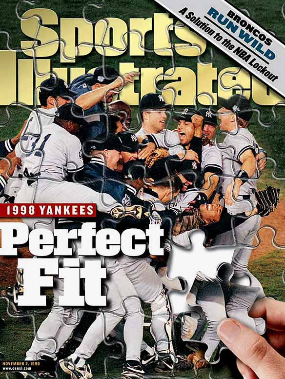 The Yankees juggernaut won 114 games and then went 11-2 during the postseason. They scored 26 runs in their four-game pummeling of the Padres, which included the first three World Series saves of Mariano Rivera's career.
