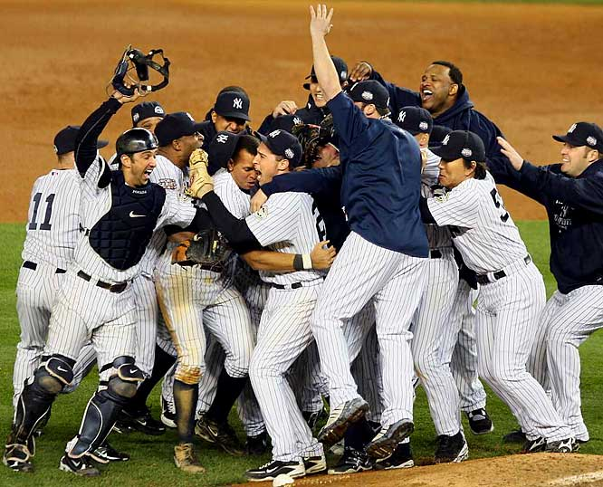 It was only fitting that the Yankees christened their new stadium with their 27th World Series title. The triumph capped a season of redemption for Alex Rodriguez and a team that had tasted often monumental defeat during the decade. Hideki Matsui drove in six runs in the clincher and was named Series MVP.  The Yankees defeated the Phillies in six games.<br><br>Send comments to siwriters@simail.com