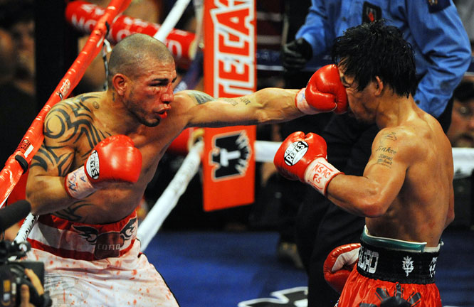Though many thought Cotto had slowed down after his loss to Antonio Margarito, the Puerto Rican showed he hadn't lost any of it in the early rounds.
