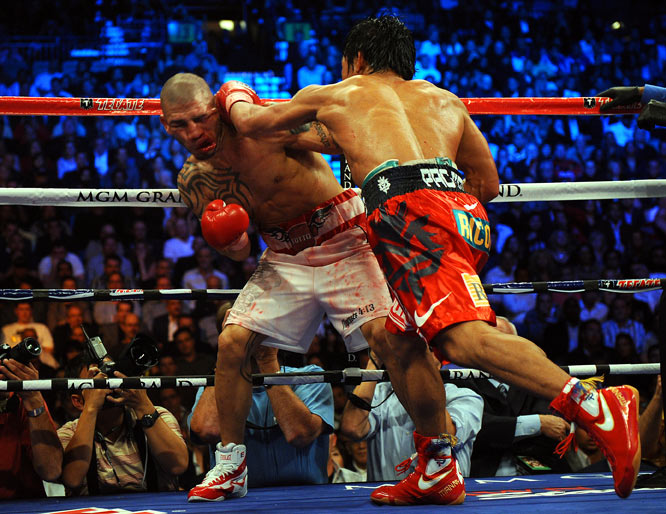 Pacquiao earned a minimum $13 million, while Cotto got $7 million for the fight.
