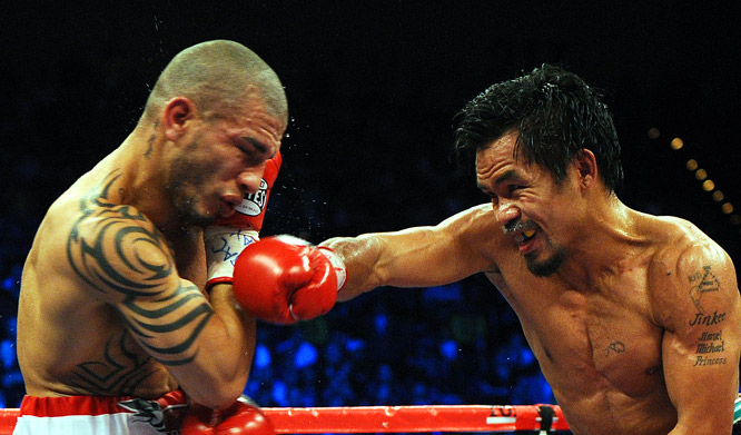 Pacquiao said this was the last weight division he'd try to conquer.