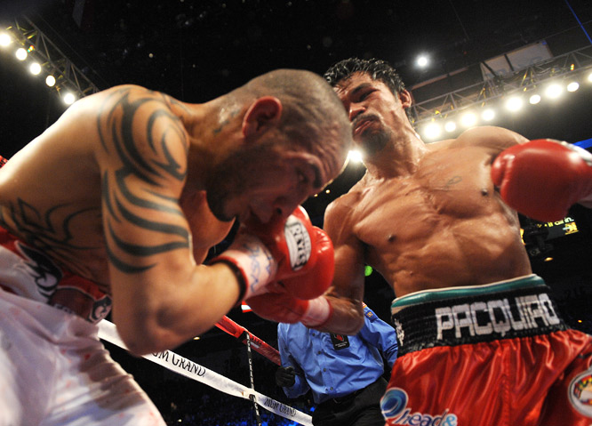 Though he took quite a beating from Pacquiao, Cotto earned respect for his courage in the ring.