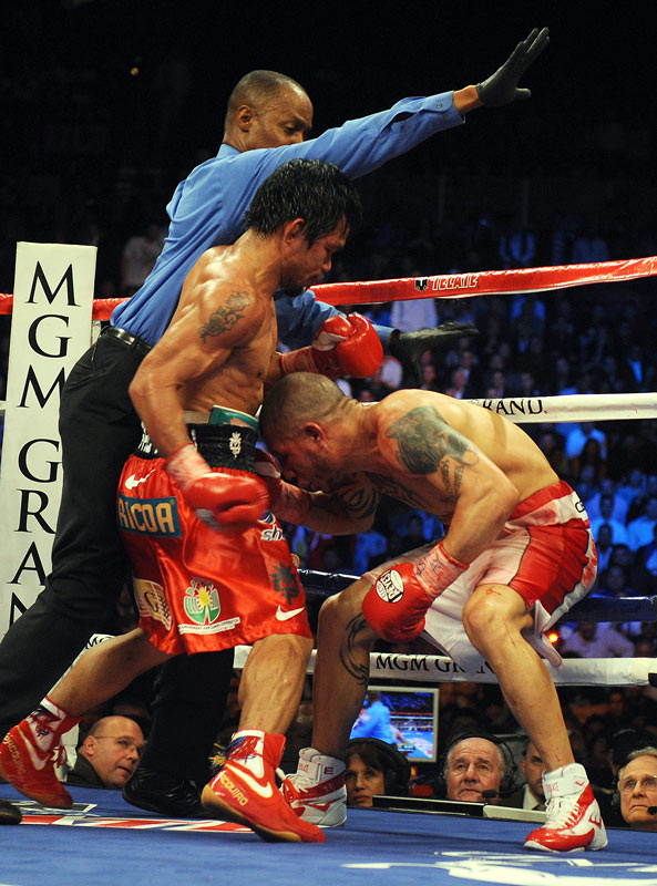 Pacquiao's power in both hands surprised Cotto and trainer Joe Santiago.