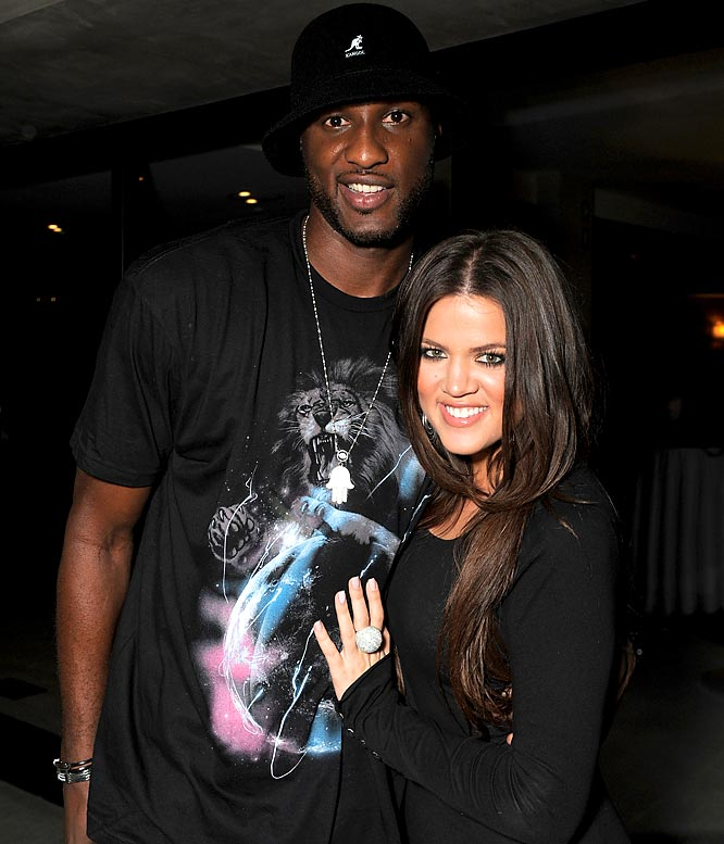 The Lakers' other happy couple are doing just fine. The wedding episode of Kardashian's reality show on E! drew a healthy 3.2 million viewers on Sunday. And Odom went on Chelsea Handler's talk show and said he wants to have kids with Kardashian soon and wouldn't mind starring in his own reality show with his wife.