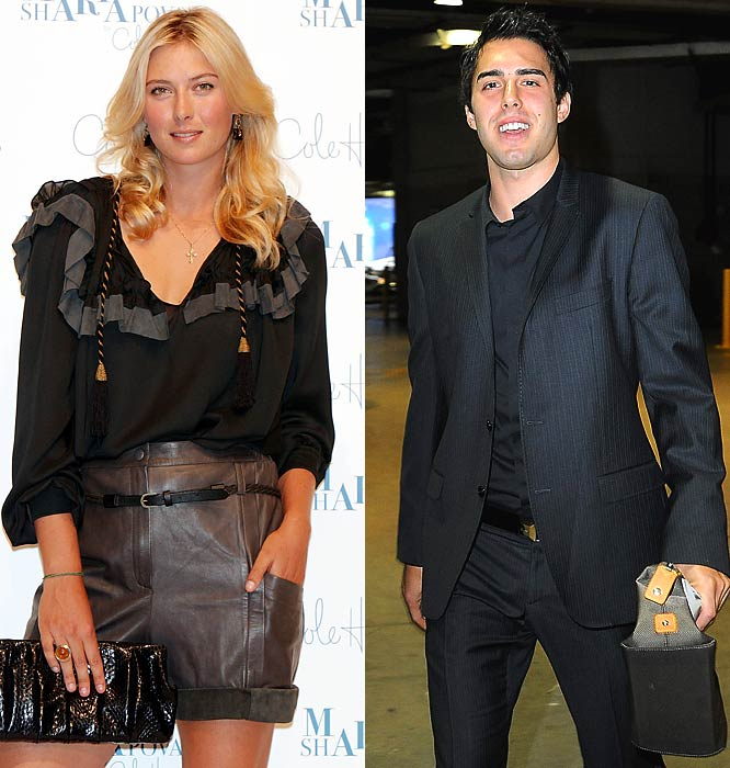 Apparently you need to be linked with a celebrity to play for the Lakers these days. The latest Laker to cross over into the celebrity gossip columns is Vujacic, who is dating Sharapova. The two were spotted cozying up at a U2 concert and later Sharapova watched Vujacic from a seat across from the Lakers' bench.