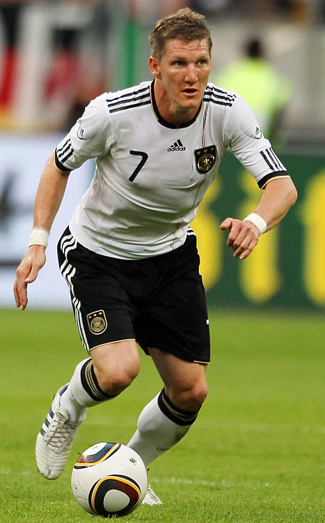 Qualified as: Europe Group 4 winner  17th World Cup appearance (last in 2006)  Player to watch: Bastian Schweinsteiger   Odds to win: 12 to 1