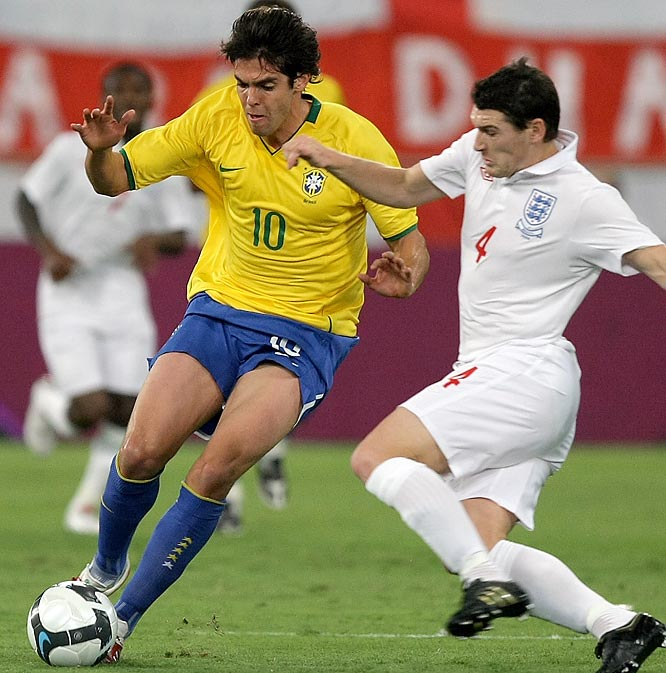 Qualified as: South America first place  19th World Cup appearance (last in 2006)  Player to watch: Kaká  Odds to win: 9 to 2