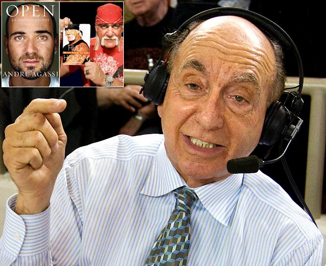 <i>Dickie V lets us know how he really feels.</i> <br><br>''Isn't it sad that celebs like Agassi and Hulk Hogan will write anything to sell books. How pathetic!'' <br>(12:27 PM Nov 2)