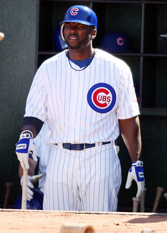 "The notoriously hotheaded outfielder was suspended for arguing with an umpire who had called him out on strikes with the bases loaded, sent home by Cubs manager Lou Piniella after an outburst in the dugout, and suspended again for the rest of the season after publicly criticizing the team. ""I need a stable, healthy, enjoyable environment,"" Bradley told the Arlington Heights Daily Herald. ""There's too many people everywhere in your face with a microphone asking the same questions repeatedly."""