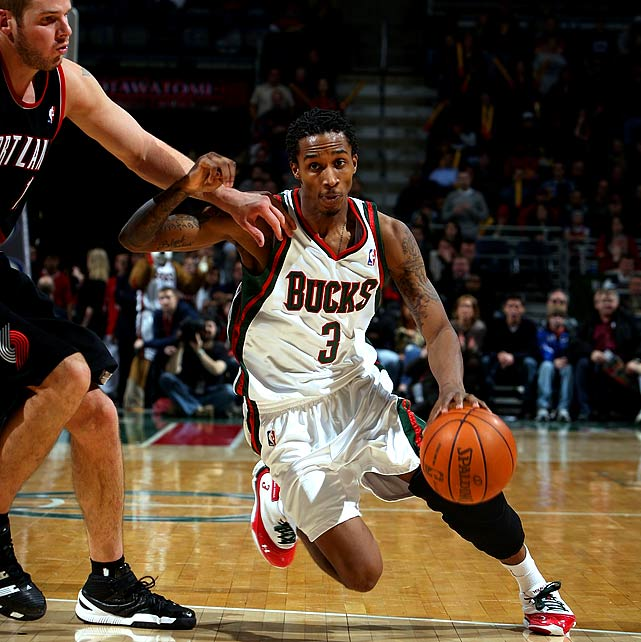 "Fifteen minutes after the Bucks defeated the Blazers in double overtime last  December, Jennings tweeted his elation at his team getting back to .500.   ""Back to 500. Yess!!!,""  he wrote.  ""'500' means where doing good.  Way to Play Hard Guys.""   But Jennings violated an NBA rule that bans tweeting in games and until  players have fulfilled media requirements. The NBA fined him $7,500 as a result,  and Jennings questioned the rule in response, noting that he was only tweeting  his excitement over a victory.  ""I understand I got fined, but 7,500?"" he wrote. ""For being happy over a win,  you would of thought I said something bad. I mean it was a big win for  us."""