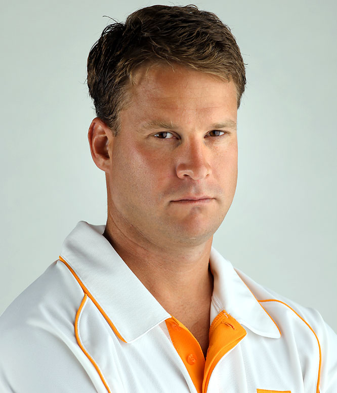 Kiffin claims an assistant wrote this tweet for his account, but nonetheless, the Vols were forced to report themselves to the NCAA for mentioning an unsigned recruit by name:    ''It's a beautiful day in Knoxville, Tennessee today. I was so exited to hear that J.C. Copeland committed to play for the Vols today!''